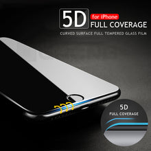 Load image into Gallery viewer, 5D Full Cover Edge Tempered Glass For iPhone 6/7/8/X