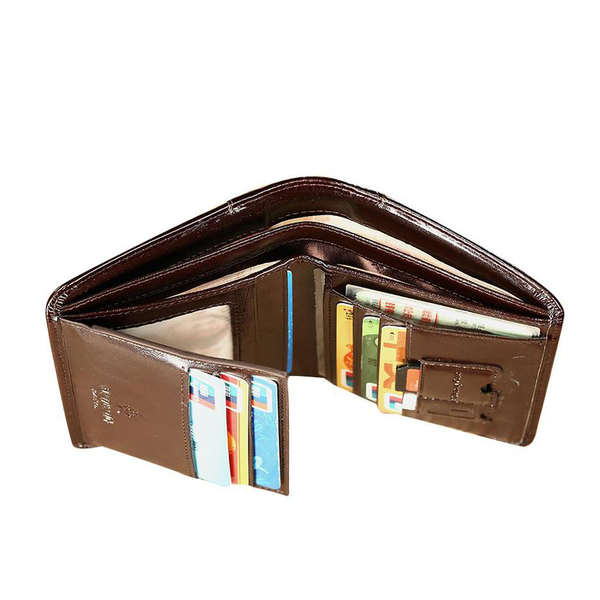 Hot Sale Genuine Leather Men Wallet