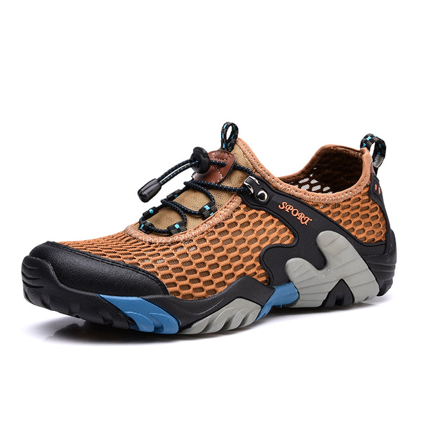 NEW Men Outdoor Hiking Quick Drying Breathable Shoes