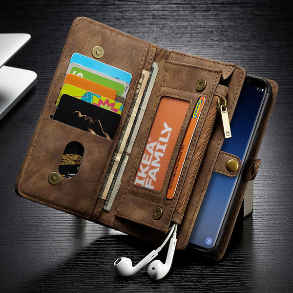 8a9f4a44b Multi-functional Wallet Flip Cases For Samsung Galaxy S9/S9Plus