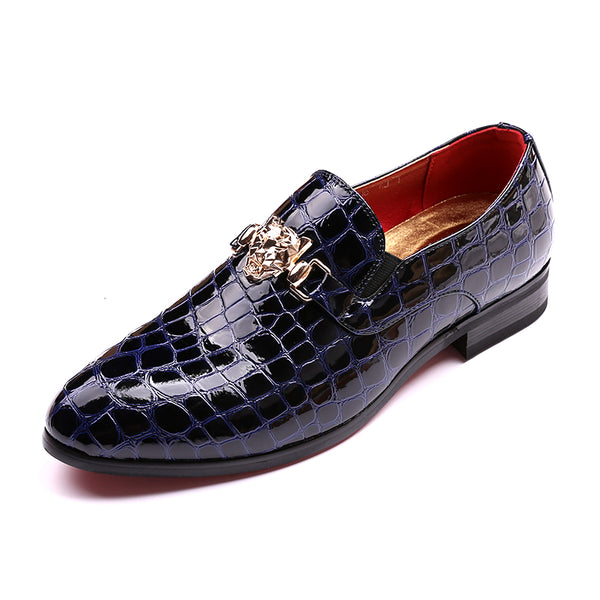 New Arrival Luxury Men Pointed Toe Dress Shoes