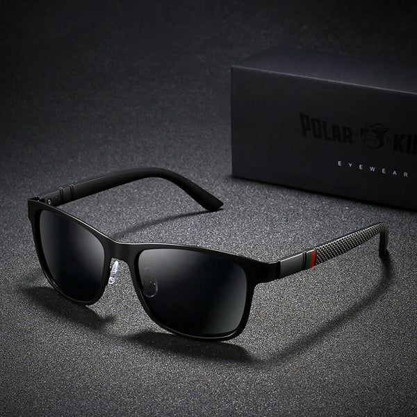 Metal Design Men Polarized Driving Sunglasses(BUY 2 TO GET 10% OFF)