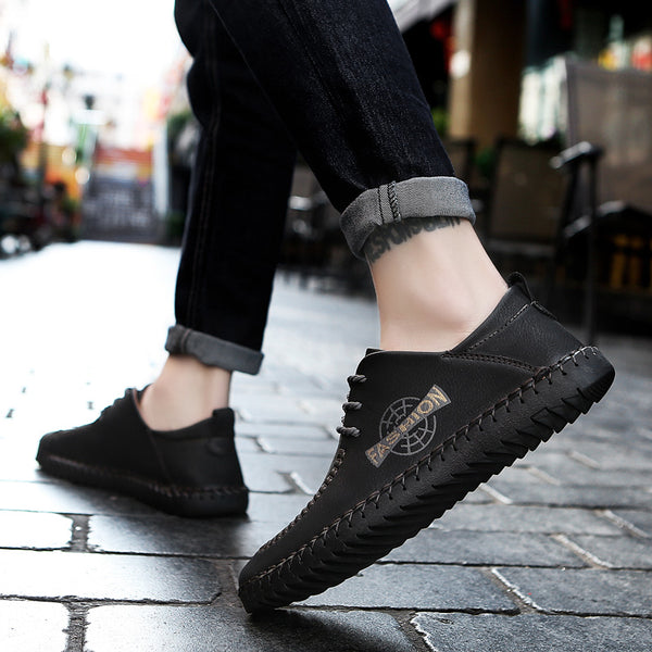 2018 Handmade Men's Flats Casual Shoes(BUY 2PCS TO GET 10% OFF)