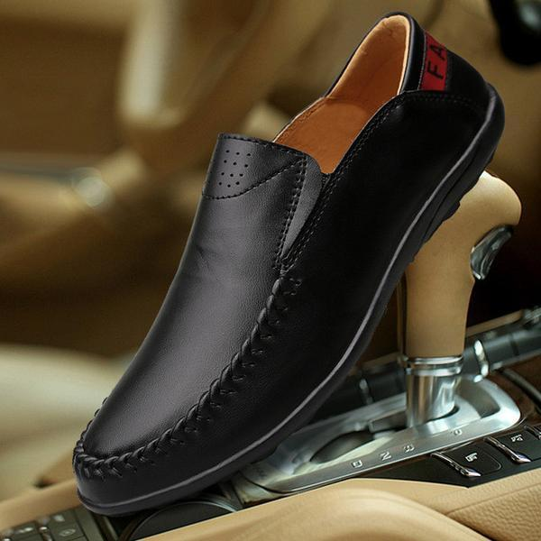 Fashion Leather Male Shoes Plus size to 13