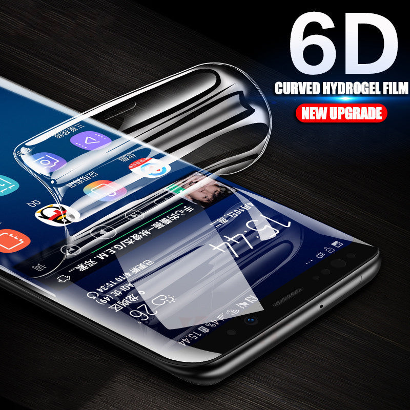 Curved Soft Protective Film For Samsung S9/S8 Plus/S7 Edge/S6 Edge (Not Glass)