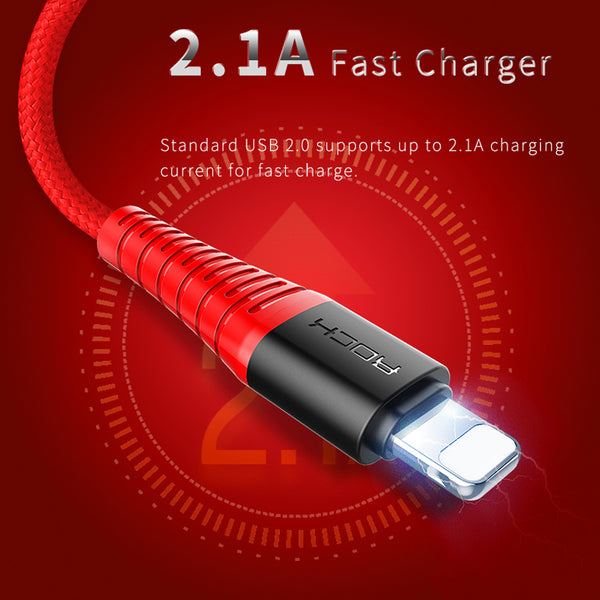 Hi-Tensile Lightning Charge & 2A Fast Charger Data Cable For iPhone(BUY 2PCS TO GET 15% OFF)