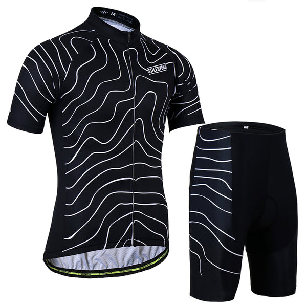 2018 Polyester Quick-Dry Mountain Bike Cycling Set