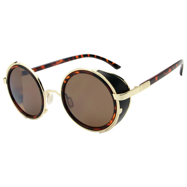 2018 Fashion Retro Men Alloy Oval Sunglasses(BUY 2PCS TO GET 10% OFF)