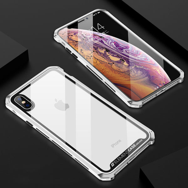 Luxury Metal Armor Case For iPhone X/Xs/Xr/Xs Max(BUY 2 TO GET 10% OFF)