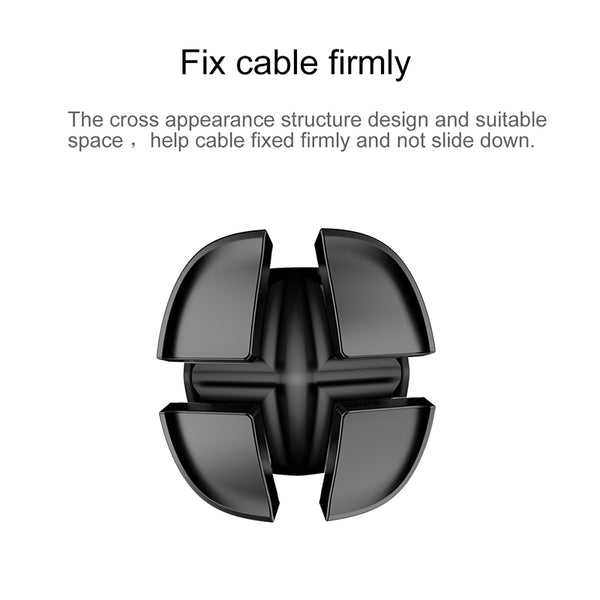 Flexible Silicone USB Earphone Cable Organizer