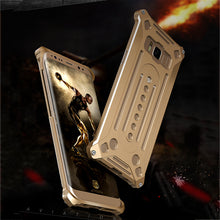 Load image into Gallery viewer, Luxury Metal Frame Armor Protective Case For Samsung S8/S8 Plus