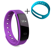 Load image into Gallery viewer, Fitness Heart Rate Blood Pressure Tracker Smart Bracelet
