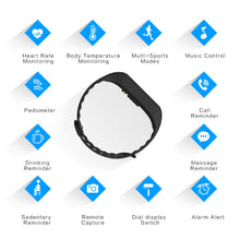 Load image into Gallery viewer, Heart Rate Monitor Fitness Tracker Smart Bracelet