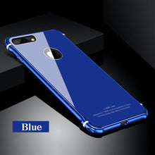 Load image into Gallery viewer, Luxury Aluminum Bumper & Back Armor Case for iPhone X 6 7 8 Plus