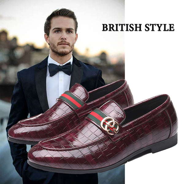 New Trend British Crocodile Leather Shoes(BUY 2PCS TO GET 10% OFF)