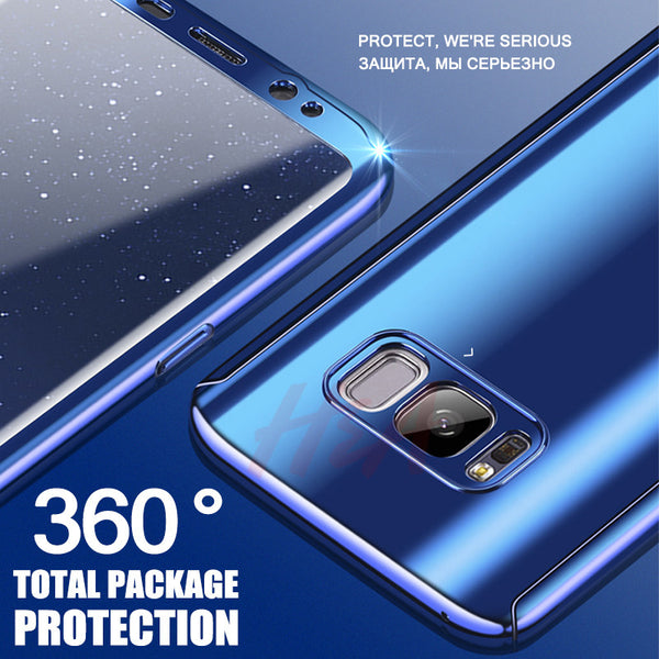 360 Degree Full Body Protection Case For Samsung S8 Plus/Note 8/S7