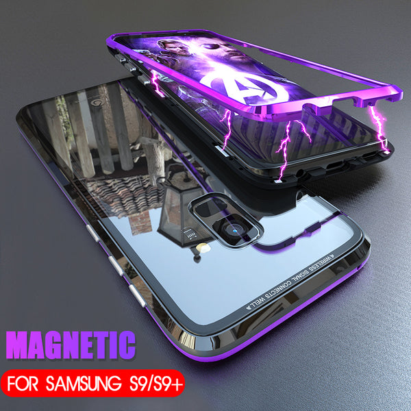 new style 4a0bf 8a180 Magnetic Adsorption Metal Case For Samsung S9/S9 Plus(BUY 2PCS TO GET 15%  OFF)