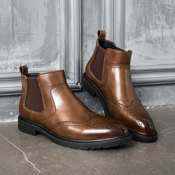 Casual Oxford Style Men Chelsea Boots(BUY 2 TO GET 10% OFF)