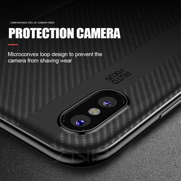Luxury PC + TPU Cover Cases For iPhone X