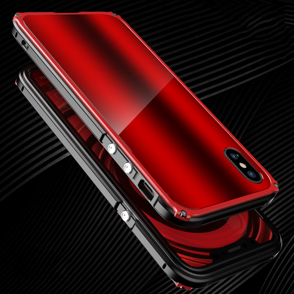 Shockproof Dustproof Armor Metal Case  for iPhone X 8 7 7plus