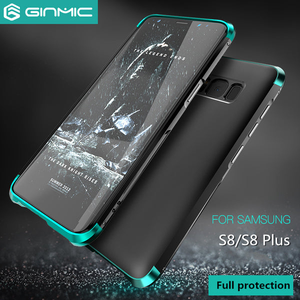 premium selection 7b0ae 5d223 Metal + PC Hard Hybrid Slim Cover For Samsung Galaxy S8/S8 Plus(BUY 2PCS TO  GET 15% OFF)