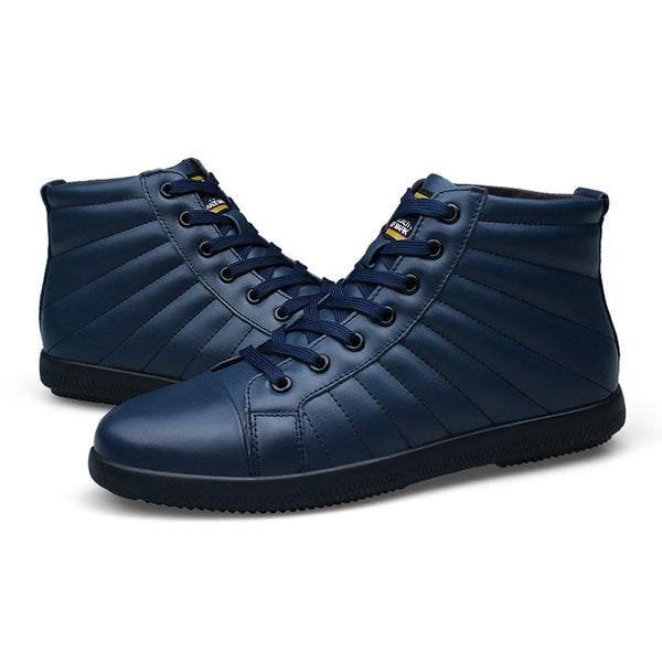 Big Size Men Handmade Leather Ankle Boots