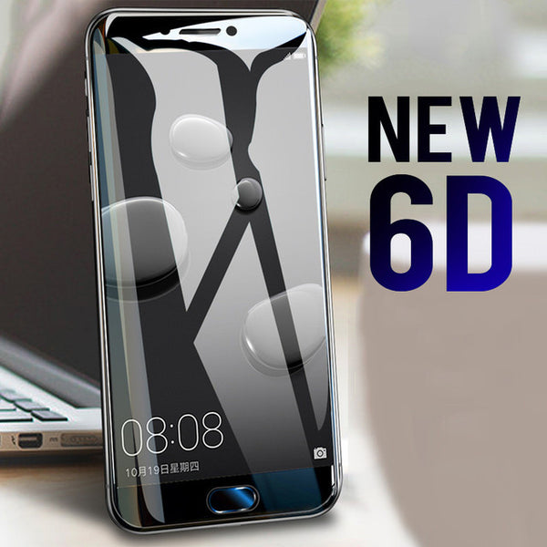 Tempered Glass  6D Full Screen Protector For Huawei P10 P9 P8 Lite P9 P10 Plus