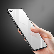 Load image into Gallery viewer, Anti-knock Tempered Glass+Hard PC Back Case For iPhone