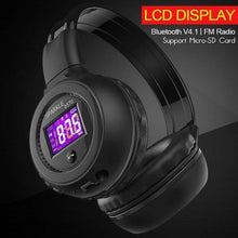 Load image into Gallery viewer, Headphone - 2017 LCD Screen FM Wireless Bluetooth Headphone