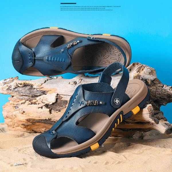New Summer men's Genuine leather beach sandals(BUY 2 TO GET 10% OFF)