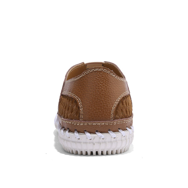 Real Leather Men Moccasins Boat Shoes