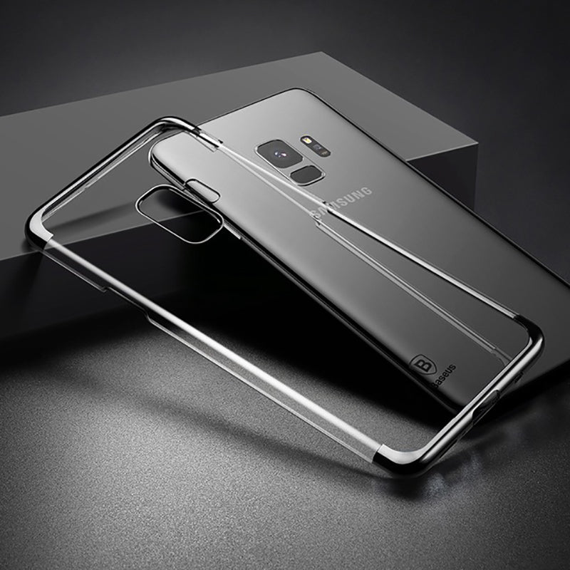 Luxury Plating Hard Plastic Case For Samsung Galaxy S9 S9 Plus