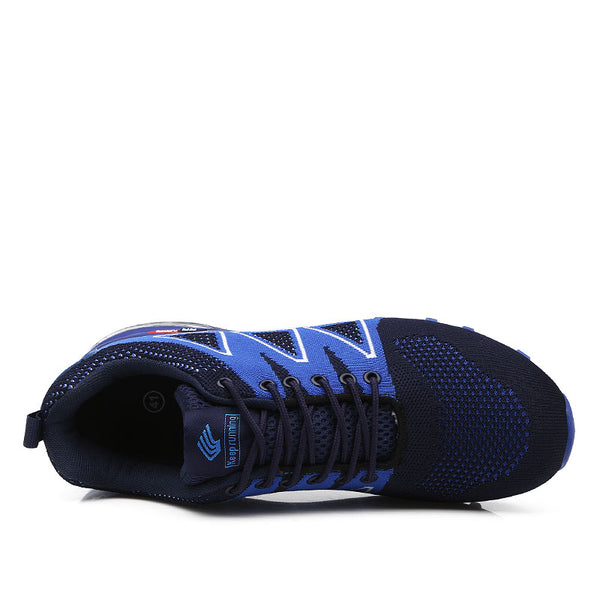 Breathable Athletic Outdoor Trainer Sports  Cushioning Sneakers