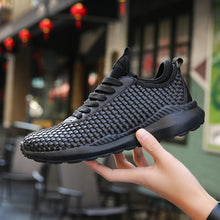 Load image into Gallery viewer, Top Quality Light Mesh Men Running Shoes