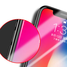 Load image into Gallery viewer, 4D Full Coverage of Nano tempered Glass For iPhone X