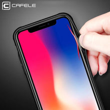 Load image into Gallery viewer, Original Soft TPU + Ultra Thin Transparent Glass Back Cover For Apple iPhone X