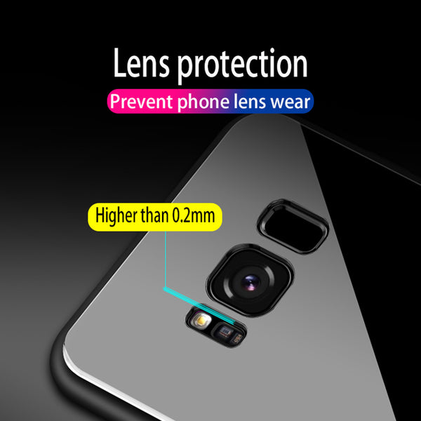 Luxury Tempered Glass With Finger Holder For Galaxy S9/ S8+/Note 8(BUY 2PCS TO GET 15% OFF)