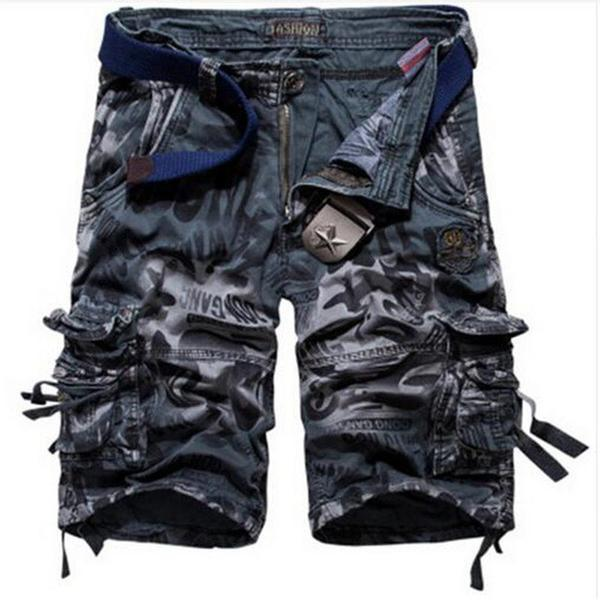2018 New Men's Camouflage Shorts