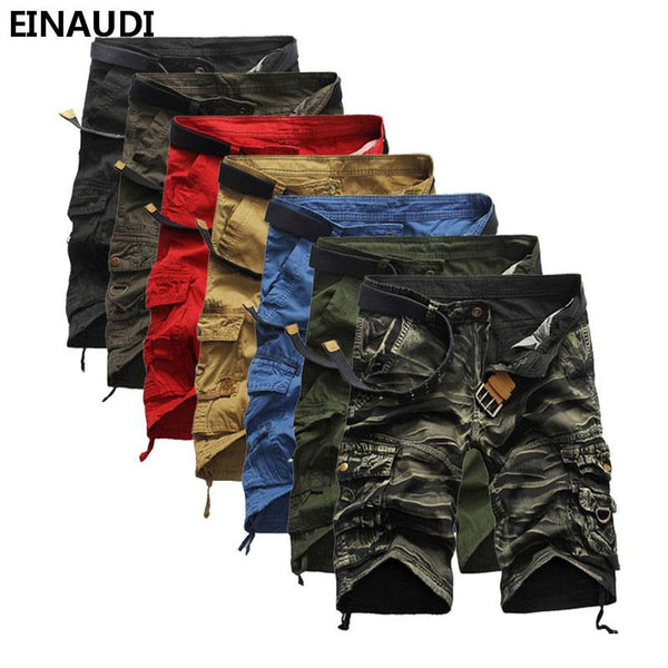 Men Summer Military Style Shorts