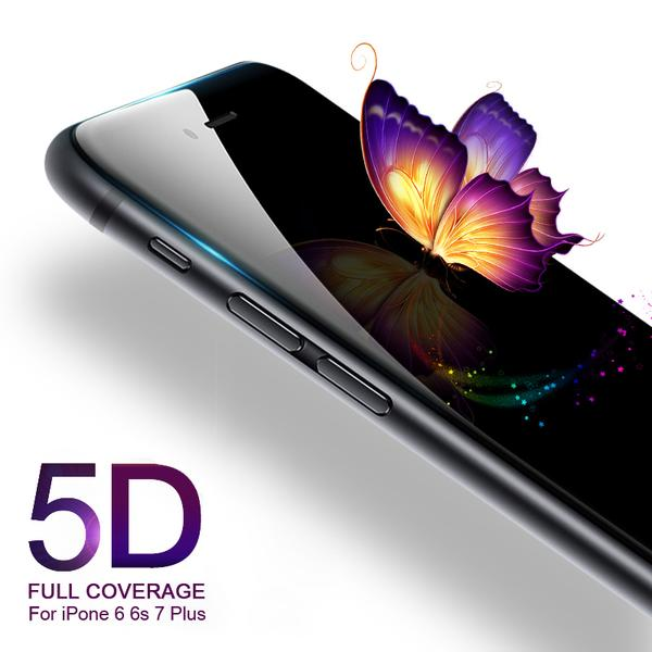 5D Tempered Glass for iphone 6 7 PLUS