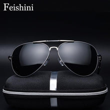 Load image into Gallery viewer, Sunglasses - UV Protection Polaroid Man Polarized Pilot Vintage Sunglasses
