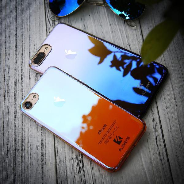 Summer Style Ultrathin Blue Ray Phone Case