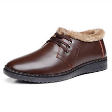 Load image into Gallery viewer, High Quality Men's Casual Fur Warm Shoes