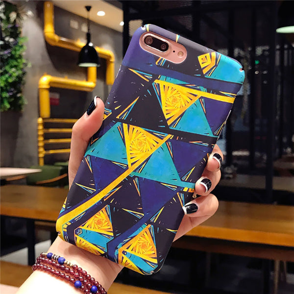 Fashion Abstract Art Phone Case For iPhone