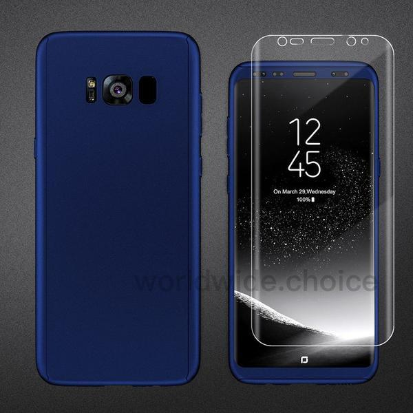 Slim Matte Hard Full Protection Case For Galaxy S8/S8 Plus S7/S7 Edge