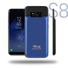 Load image into Gallery viewer, 4000mAH Rechargeable Power Bank Case For Samsung S8