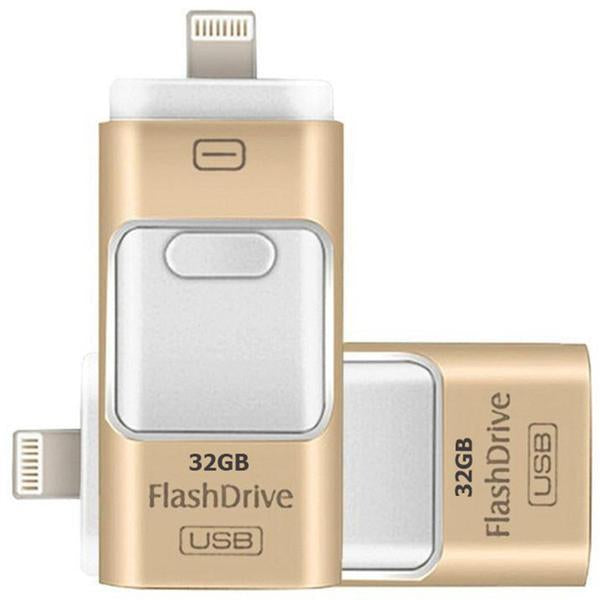USB Flash Drive - New Flash Drive For iPhones / Android Phones / PC / Mac