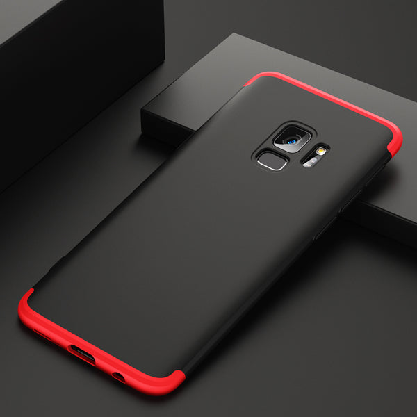 Dual Armor 360 Full Protection Hard Hybrid PC Matte For Galaxy S9/S9+