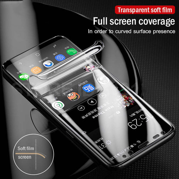 Soft Curved Screen Protector For Samsung Galaxy(Not Glass)