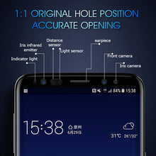 Load image into Gallery viewer, 7D Tempered Glass Full Cover Screen Protector  For Samsung Galaxy S8 S9 Plus Note 8 9